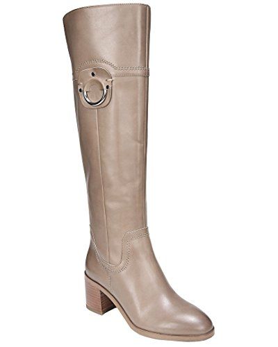 Franco Sarto Women's Beckford Riding Boot (5, Taupe)