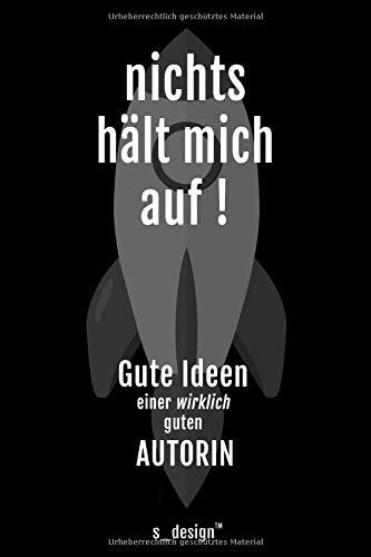Notizbuch für Autoren / Autor / Autorin: Originelle Geschenk-Idee [120 Seiten kariertes blanko Papier]