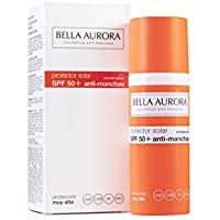 Bella Aurora Fluido Solar Facial Anti-Manchas (Piel Normal O Seca, SPF 50+) - 50 ml.