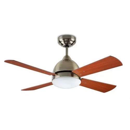 LEDs C4 - Ventilateur de Plafond Lumineux Borneo - Patiné