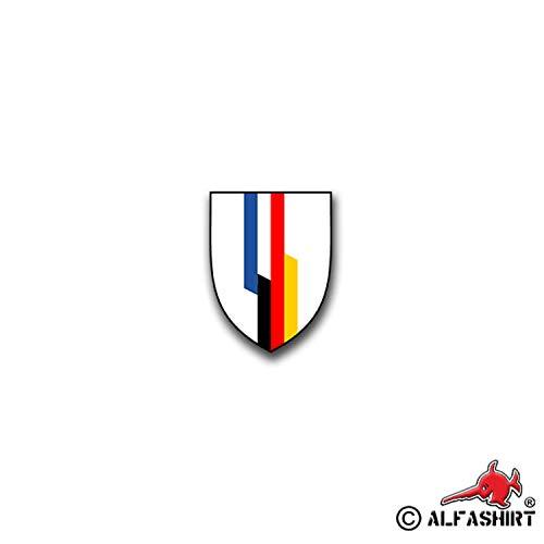 Aufkleber/Sticker DF-Brigade German Frankreich Brigade Franco Heer 5x7cm A838