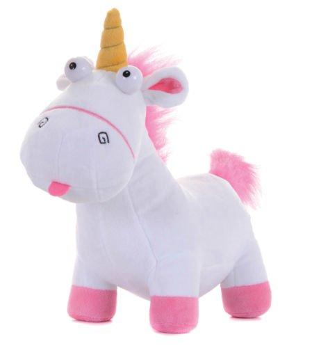 ENVI Felpa de unicornio mullido de Mi villano favorito 2 Agnes aprox. 24 cm – Minion de peluche - Gramito de villano favorito