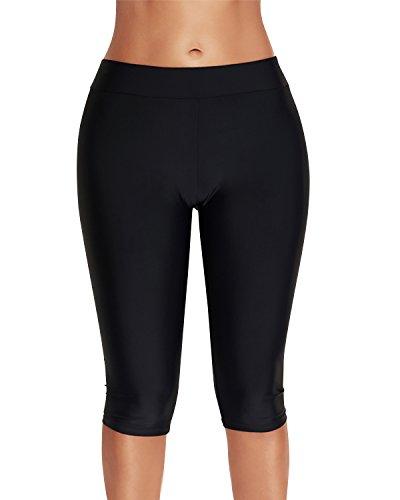 costume mare da donna con shorts Dolamen Donna Pantaloni da Nuoto