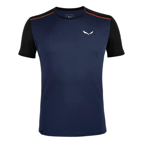 SALEWA Sporty B 4 Dry M S/S tee - Camiseta para Hombre, Hombre, Camiseta, 00-0000027835, Azul, M