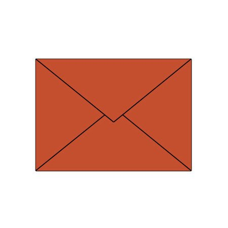 Artoz Trend 1001 Kuverts E6 (191 x 135mm) feuerrot, Verpackungseinheit 50 Stück - Preis für 50 Stück