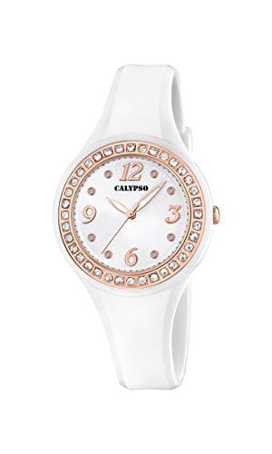 Calypso Watches Orologio Analogico Quarzo Donna con Cinturino in Plastica K5567/B