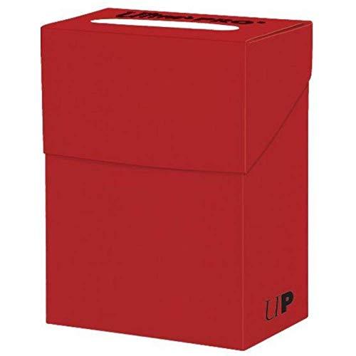 baratos y buenos Deck Box Ultra Pro rojo sólido, unisex adulto, carta estándar calidad