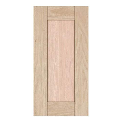 Unfinished Oak Shaker Cabinet Door by Kendor, 18H x 9W