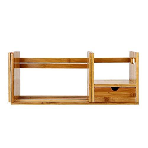 DHTOMC Libreria Bookshelf Simple Retract Blockshelf Singolo scaffale per cassetti Singolo Strato Adatto per Studio Desk Desk Scrivania Scrivania Scrivania Display Xping