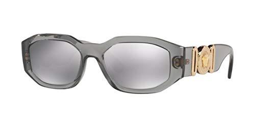 Versace 0VE4361 Gafas, Gris, 53 Unisex Adulto