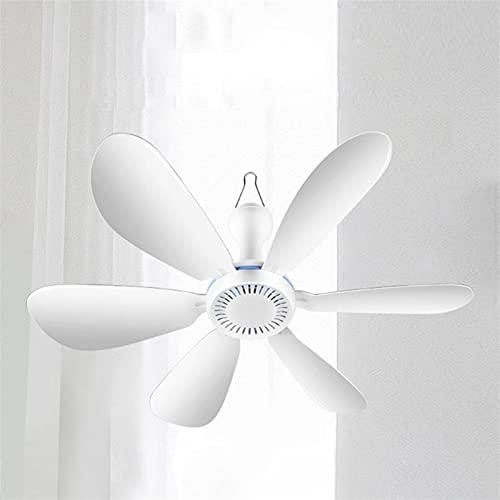 Led Ventilador De Techo Ventilador Colgante Silencioso De La Cama del Dormitorio del Hogar Interruptor De Encendido Y Apagado Ventilador De Techo Refrigeración Que Ahorra Energía (Color : EU W)