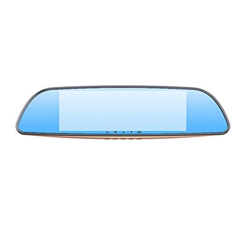 Cosye 7.0 Pulgadas K701T Grabadora de conducción de 2 Registros Lente HD Imagen de Marcha atrás Cámara de automóvil del vehículo Cámara de visión Trasera con Pantalla táctil HDMI