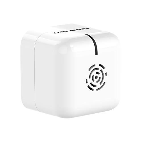 RADARCAN® R-107 Tragbarer Anti-Moskito-Schutz Premium, 25m2 / 269 sq.ft, 4 x 1,5 V AAA (Nicht enthalten), weiß