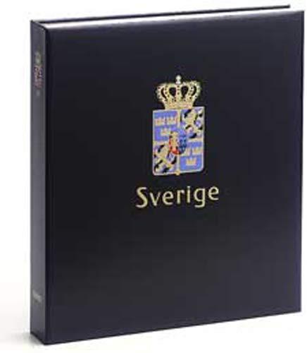 DAVO 9644 Luxe band postzegelalbum Zweden IV