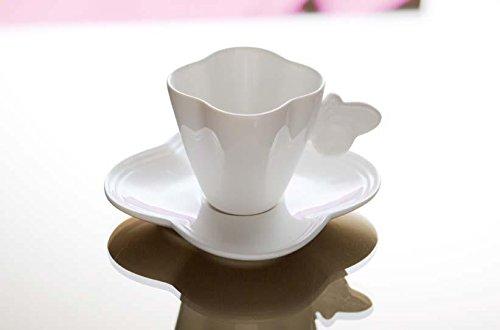 Fade Set 6 Tazze Caffè C/P. in porcellana serie Party