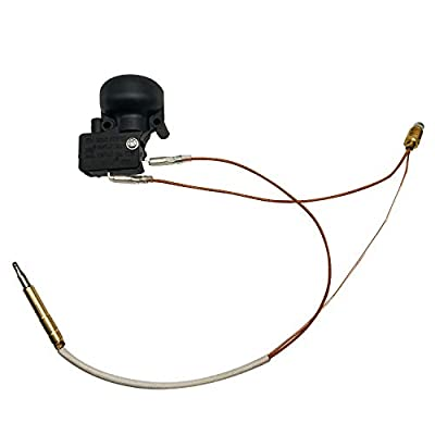 MENSI New Propane Gas Patio Heater Repair Replacement Parts Thermocoupler & Dump Switch Control Safety Kit