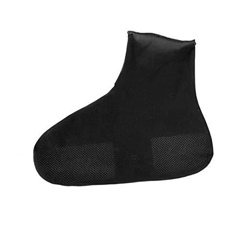 ZYD Réutilisable Pluie Neige Boot Couvre-Chaussures Chaussettes de Pluie étanche en Silicone Caoutchouc Chaussures Couvre Chaussures pour Hommes Femmes Enfants Protecteurs extérieur,Noir,S
