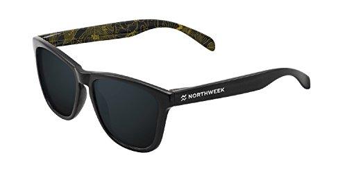NORTHWEEK Regular Gafas de sol, Shine Black, 45 Unisex