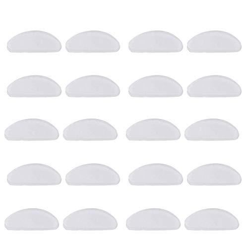 Brille Nasenpads, Anti Rutsch Nasen Pads für Brillen, Lesebrillen, Sonnenbrillen (20 Stück)
