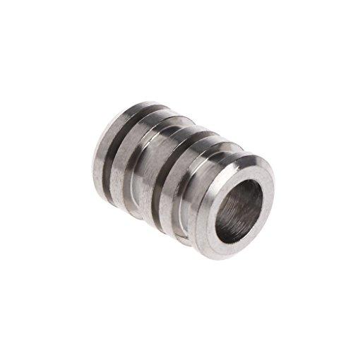 User Rope Pendant Titanium Alloy Cord Paracord Bead Pendant Hardness Metal Charms