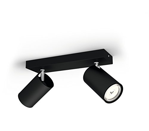 Philips Lighting myLiving Foco eniluminación interior, negro