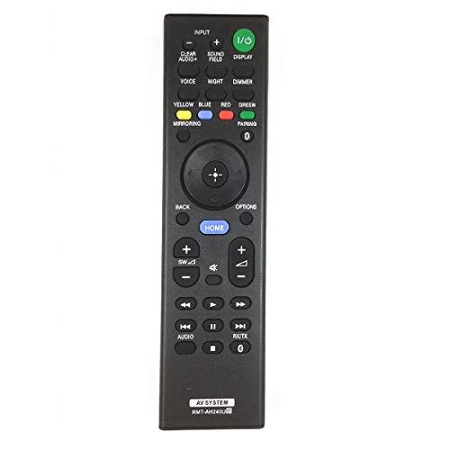 Bottma Fernbedienung RMT-AH240U für Sony Soundbar Audio System HT-CT790 HT-CT800 HT-NT3 HT-NT5 HT-RT5 HT-XT2 HT-XT3 RMT-AH110E RMT-AH110U RMT-AH240E RMT-AH240J