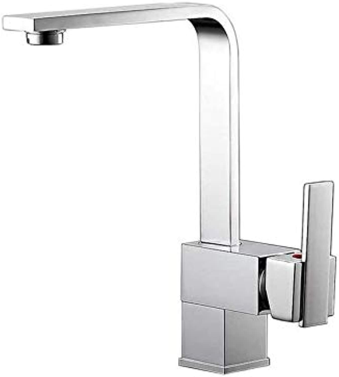 360 Degree redatable Faucetkitchen Faucet Sink Mixer Taps Hot and Cold Hot and Cold Water Mixer Taps (color   -, Size   -)