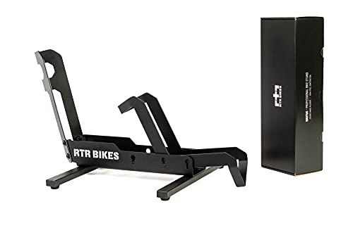 RTR BIKES Brutus Professional - Soporte de bicicleta independiente sin fijación - Ideal para tu garaje, casa o tienda de bicicletas