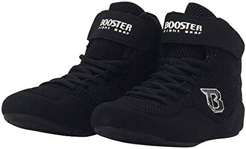 Booster BCS schwarz Schwarz Boxstiefel, Boxerschuhe, Boxschuhe