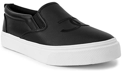 Juicy Couture Congrats Women Lace Up Fashion Sneaker Casual Shoes Black 10