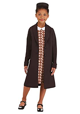Girl's Rosa Parks Costume Medium