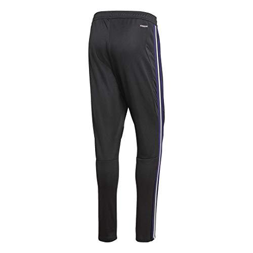 adidas Men's Tiro 19 Training Pants, Black/Collegiate Purple, X-Large