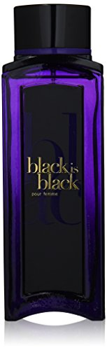 Nuparfums Group Black is Black Pour Femme Perfume, 3.4 Ounce by E.T. Perfumes