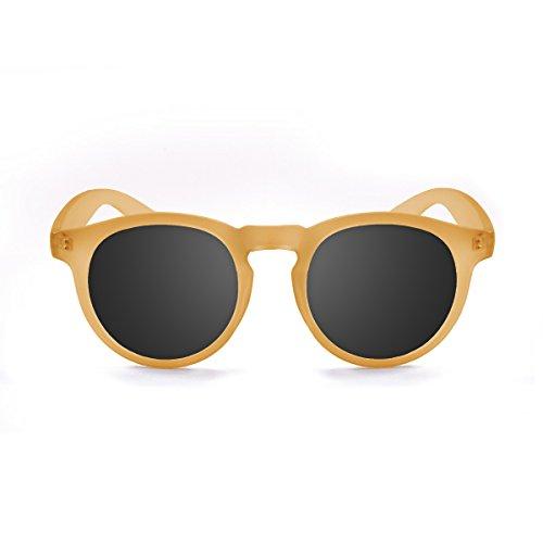 Paloalto Sunglasses Newport Gafas de Sol Unisex, Transparente Naranja