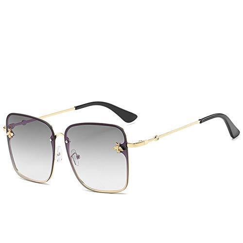 Bijen versierde vrouwelijke modellen zonnebril grote doos verscheidenheid aan kleuren en stijlen voor Fishing Driving Running Golf Cycling
