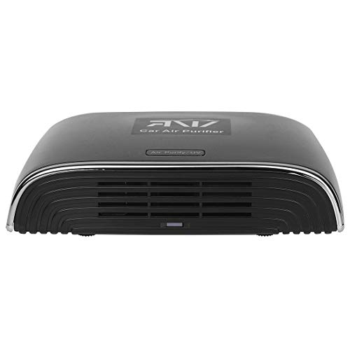 ARNV Car Air Purifier, Compatible with All Cars, and high Suction Capacity (Black)