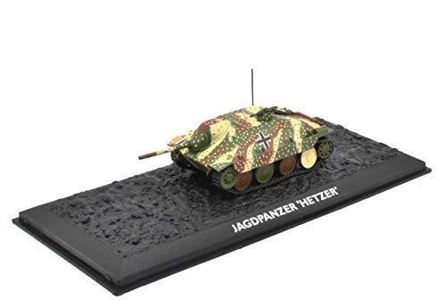 Atlas Edition Ultimate Tank Jagdpanzer Hetzer 138/2 Fertigmodel Maßstab 1:72 Die-Cast Metall
