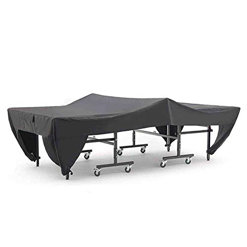 MMUY-1 Pingpong Table Cover, Table Tennis Table Protective Cover,Waterproof & UV Protection,Universal Design 280 * 154 * 76cm