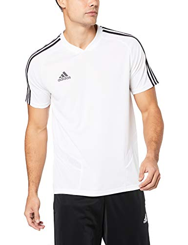 adidas Herren TIRO19 TR JSY T-Shirt, White/Black, L