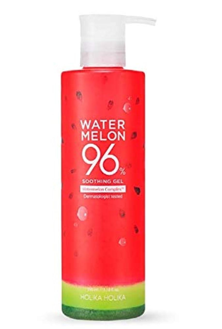 ショッピングセンターたらい維持ホリカホリカ ウォーターメロン96%スージングジェル 390ml/HOLIKAHOLIKA WATER MELON 96% SOOTHING GEL 390ml