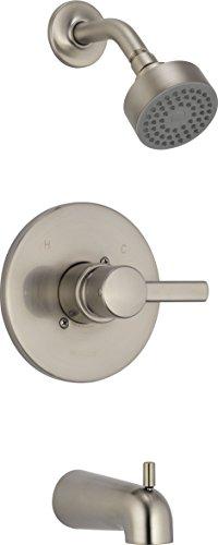 Apex, Tub Shower Trim Kit, Brushed Nickel - Peerless PTT188792-BN