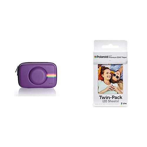 Polaroid, Custodia in Silicone per Fotocamera digitale Istantanea Snap amp; Snap Touch & Polaroid Premium Zink Carta Fotografica Compatibile con Polaroid Zip