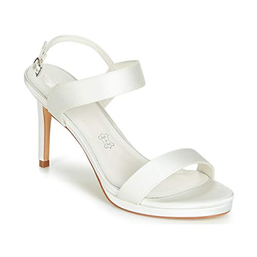 Menbur Mafata Sandalen/Sandaletten Damen Elfenbein - 41 - Sandalen/Sandaletten Shoes