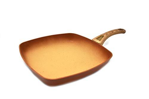 Amercook Grill Terracotta Liso 28 cm.