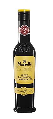 Mazzetti l'Originale, Aceto Balsamico Di Modena Igp Etichetta Gialla, 250 Millilitro