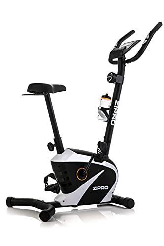 ZIPRO Cyclette da Allenamento BEAT RS, Bici da fitness, Home Trainer, Fitness Display LCD, Sensori delle Pulsazioni, 120kg