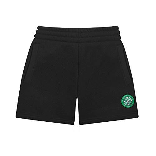 Celtic FC Official Soccer Gift Boys Fleece Jogger Shorts 6-7 Years