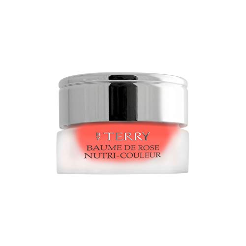 By Terry Baume De Rose Nutri Couleur Tinted Lip Balm   Mandarina Pulp   Non-Sticky Finish   7g (0.24 oz)