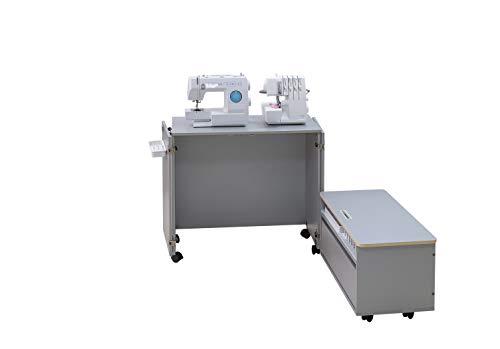 Comfort NEXT | Mueble para máquina de coser | Armario de costura | (Premium White)