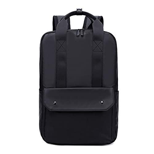 14in Laptop Rucksack, wasserabweisende leichte Nylon-Computertasche, für Lässige/Schule/Wander- / Reisegeschenk Rucksack,A,One Size